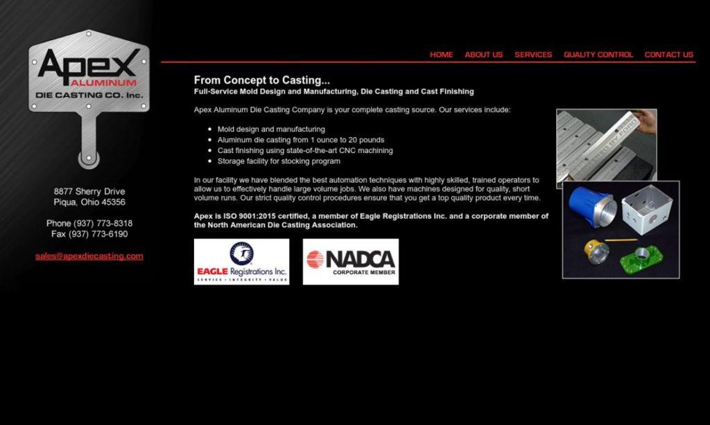 Apex Aluminum Die Casting Company