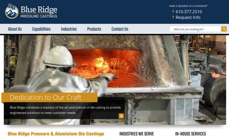 Blue Ridge Pressure Casting, Inc.
