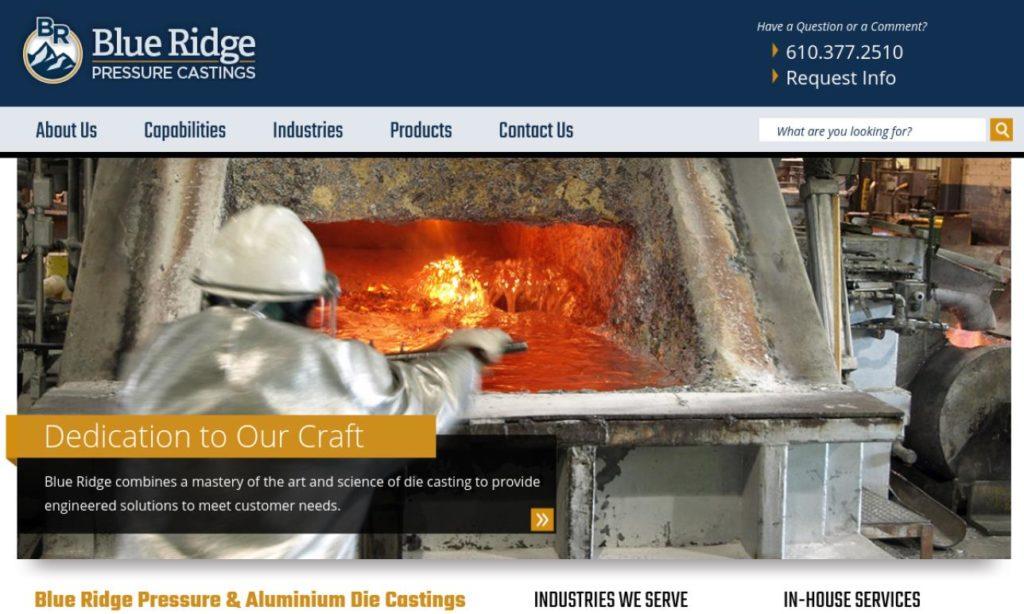Blue Ridge Pressure Casting, Inc.