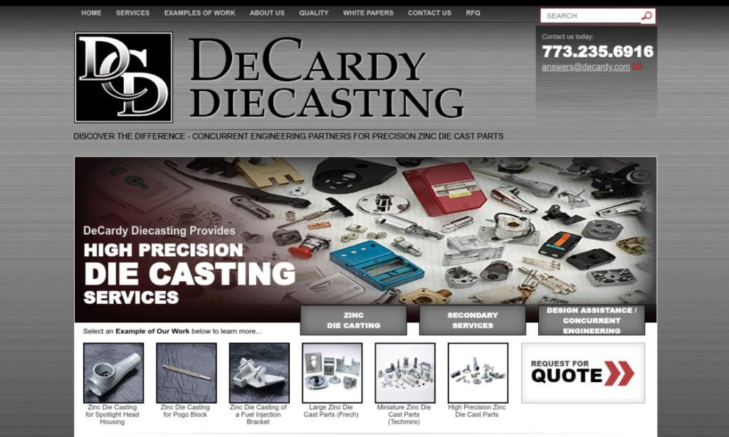 DeCardy Diecasting