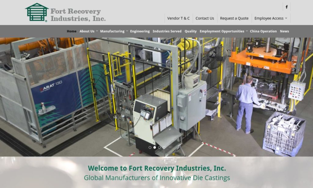 Fort Recovery Industries, Inc.