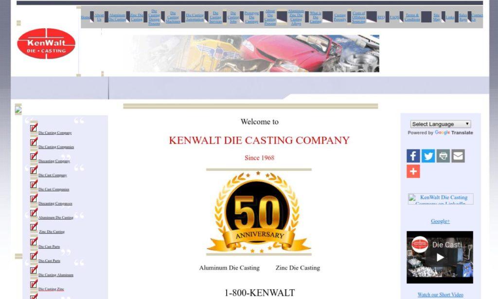 KenWalt Die Casting