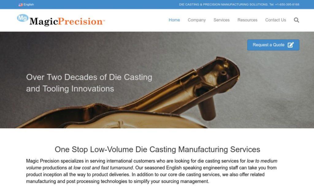 Magic Precision, Inc.