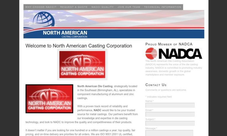 North American Casting Corporation, Inc.