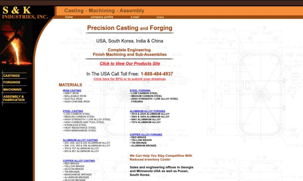 More Die Casting Company Listings