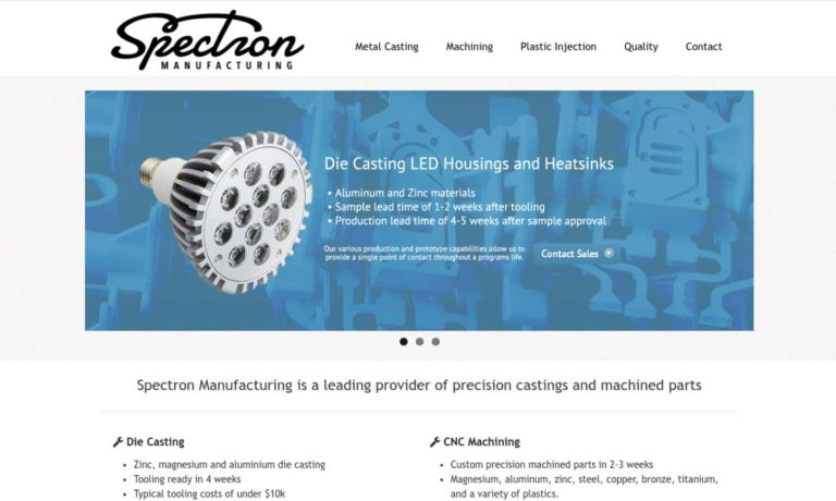 Spectron Manufacturing, Inc.
