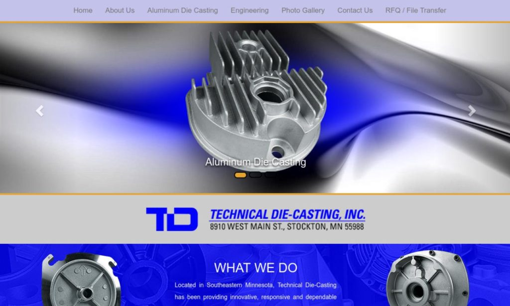 Technical Die Casting, Inc.