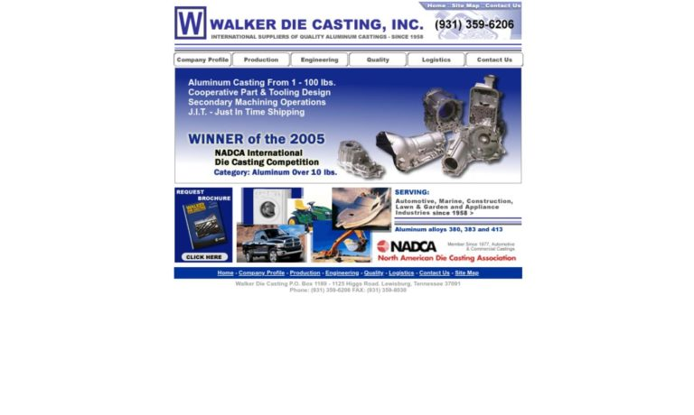 Walker Die Casting, Inc.