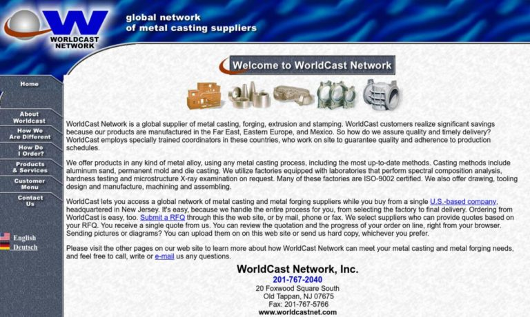WorldCast Network, Inc.