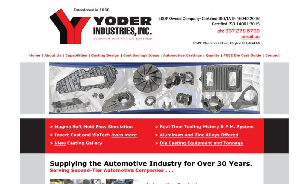 Yoder Industries, Inc.