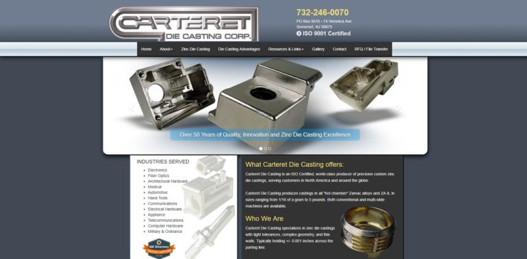 Carteret Die Casting Corporation