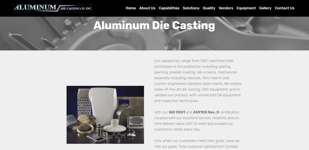 Aluminum Die Casting Company, Inc.