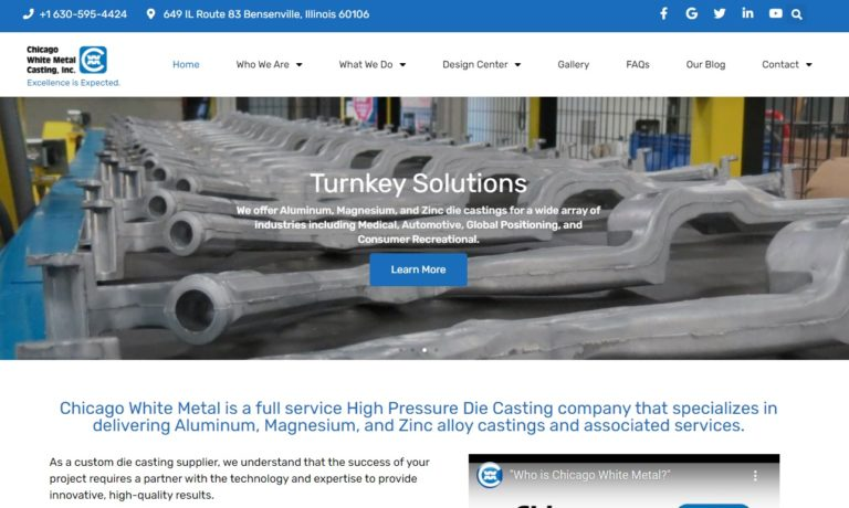 Chicago White Metal Casting, Inc.