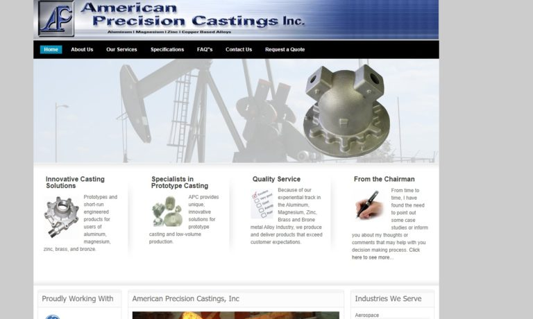 American Precision Castings, Inc.